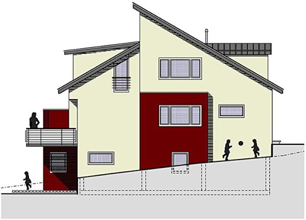 Baugesuchsplanung, Doppelhaus, Rhein Neckar